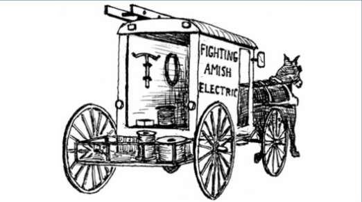 Fighting Amish Electric Home